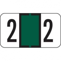 Jeter Compatible Numeric Label Laminated - Series 7300