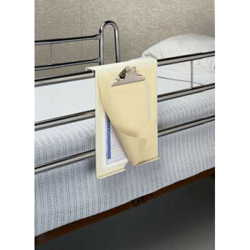 Nursing Clipboard Unbreakable Clipboard for overbed in hospitals with privacy panel