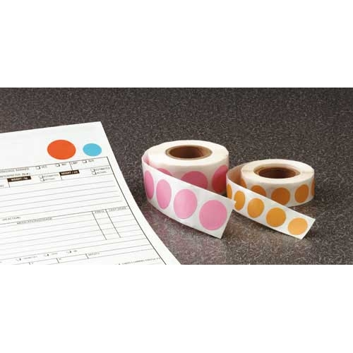 Alert Color Dots - Vinylized, 500/ Roll