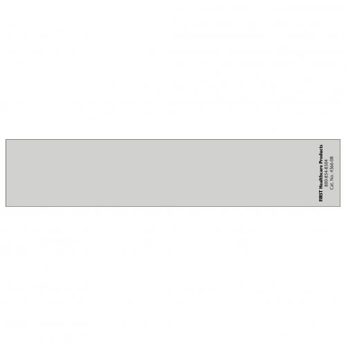 Spine ID Insert Card Flat Blank - ALL COLORS