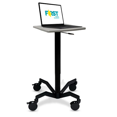 Mov-it Device Cart: ABS As part of our line of Mov-it Device Carts, the Mov-it Device Cart: ABS gives a heavy duty edge to device use/medical documentation while out on the floor.