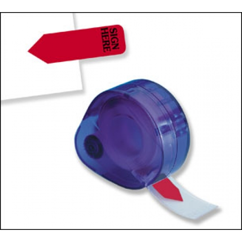 """Reversible """"Sign Here"""" 120 Flags Redi -Tag Arrow Printed Red (81054)"""