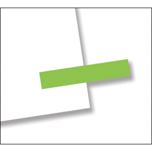 "3/16"" x 1"", 300 Flags Redi -Tag Small Solid Green"