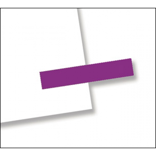 "3/16"" x 1"", 300 Flags Redi -Tag Small Solid Purple"