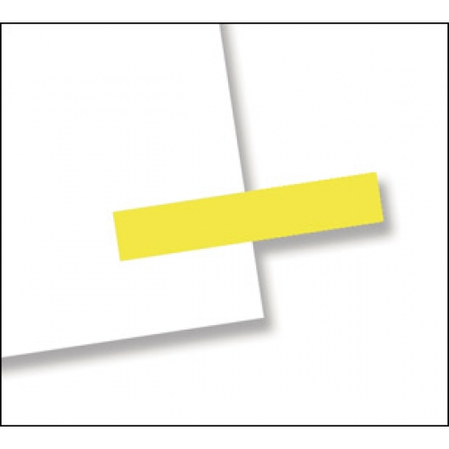 "3/16"" x 1"", 300 Flags Redi -Tag Small Solid Yellow"