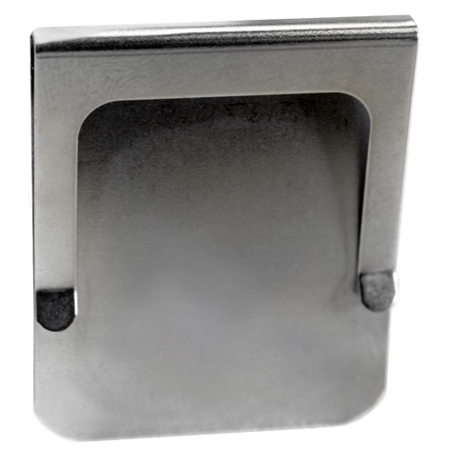 """Stnls Steel Economy Rm Number Clips 1 - 3/8"""" x 1 - 5/8"""" H (4130)"""