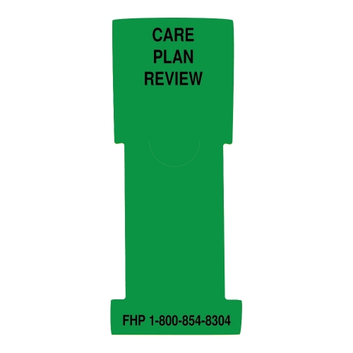"""""""Care Plan Review"""" Stat Flag, Green, Antimicrobial"""