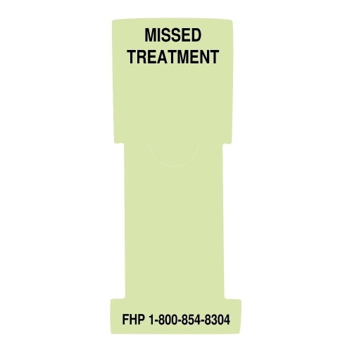 """Missed Treatment"" Stat Flag, Lime, Antimicrobial"