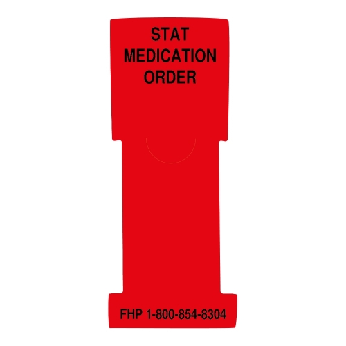 """Stat Medication Order"" Stat Flag, Red, Antimicrobial"
