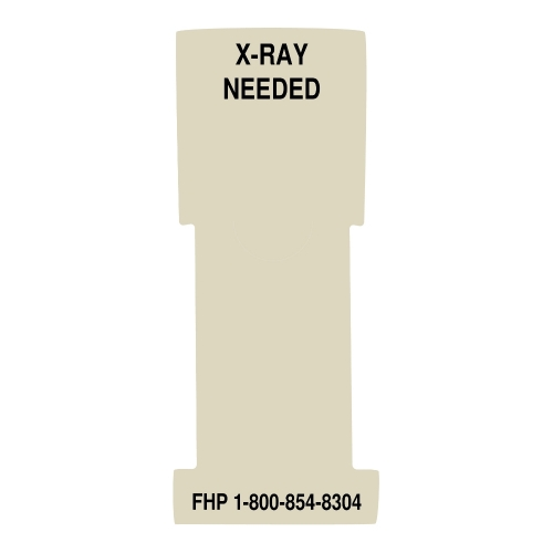 """""""X-Ray Needed"""" Stat Flag, Manila, Antimicrobial"""
