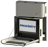 CXT-6017 Left Swivel with Tilting Monitor Mount