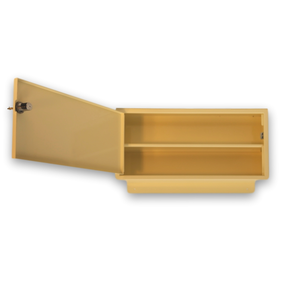 Stor-it Single Locking Med Box (Almond)
