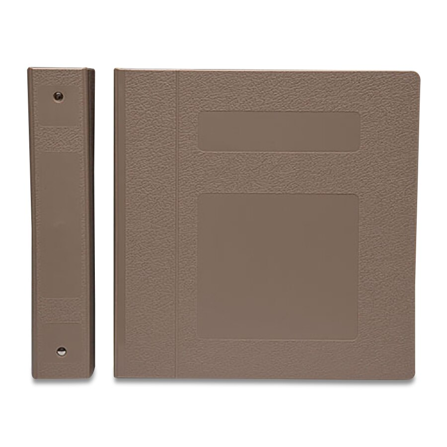 S/O 2'' TAUPE 5 RINGBINDER