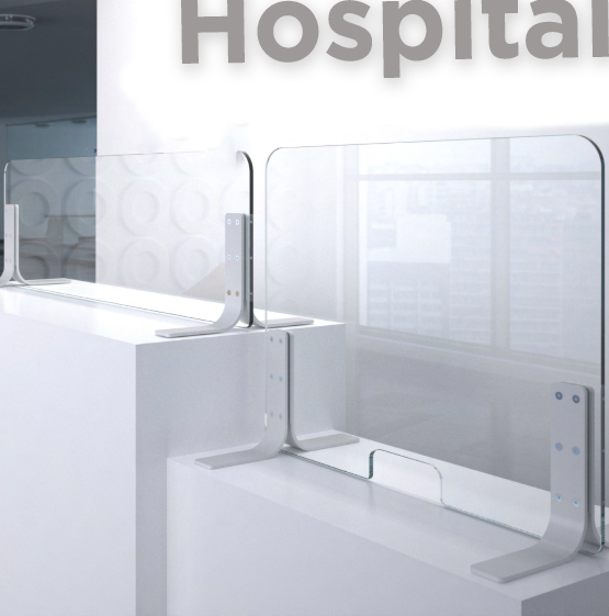 Sneeze Guard Health Shields for Hospitals and Healthcare Facilities