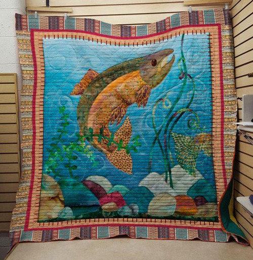 FISHING: A Fish Quilt On Sale!