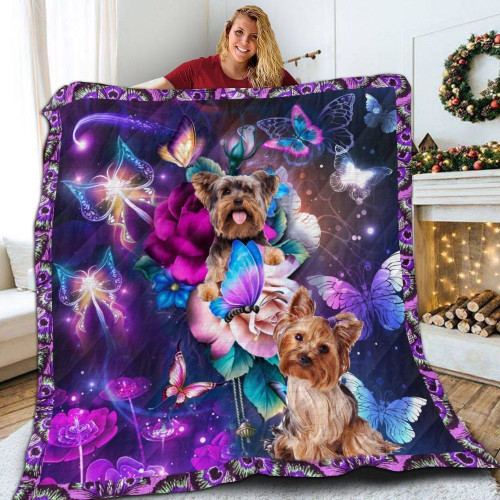 Yorkshire Magical Jir 3D Customized Quilt