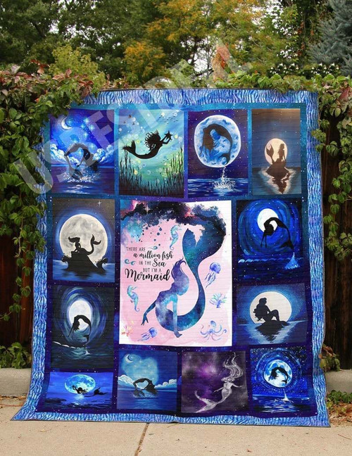 Mermaid Million Fish In The Sea WBM602 Awesome 3D Customized Quilt