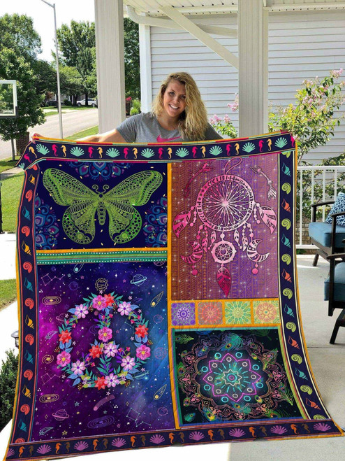 Hippie Magical Hippie Life WBM273 Awesome 3D Customized Quilt