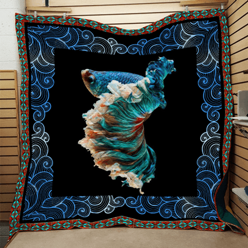 Fish Bling ZR8 3D Customized Quilt