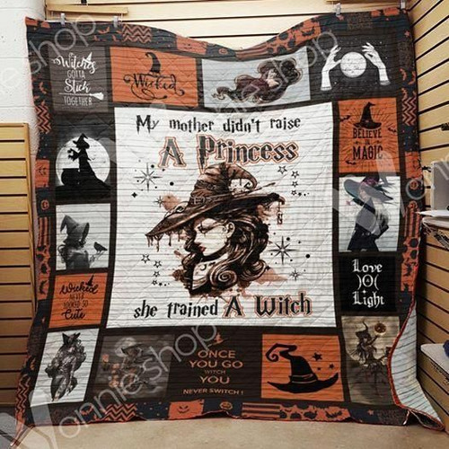 Wicca Trained A Witch Aww BHJI243 3D Customized Quilt