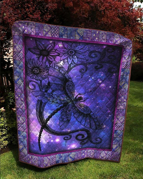 Magical Dragonfly Wings KLTS173 3D Customized Quilt