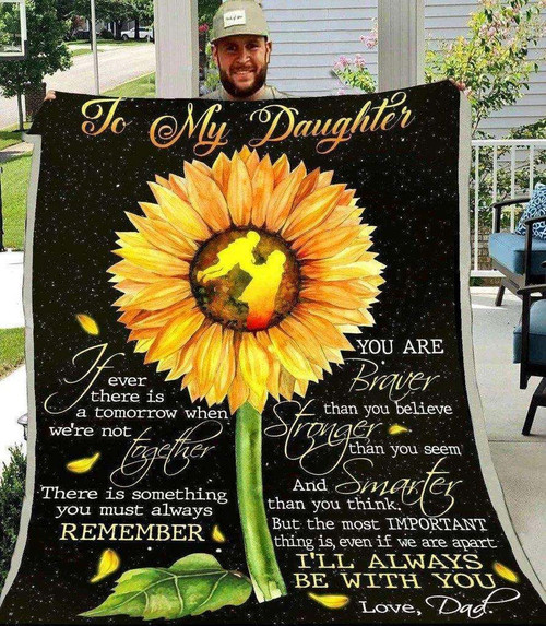 Family To My Daughter KKL129 3D Customized Quilt