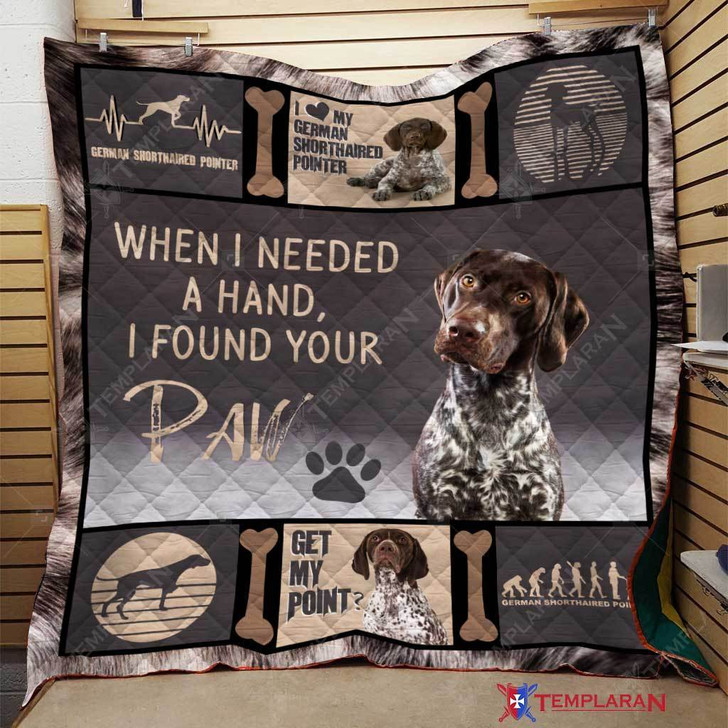 German Shorthaired Pointer Printing All Over Print #SOH-11175 3D Quilt Blanket