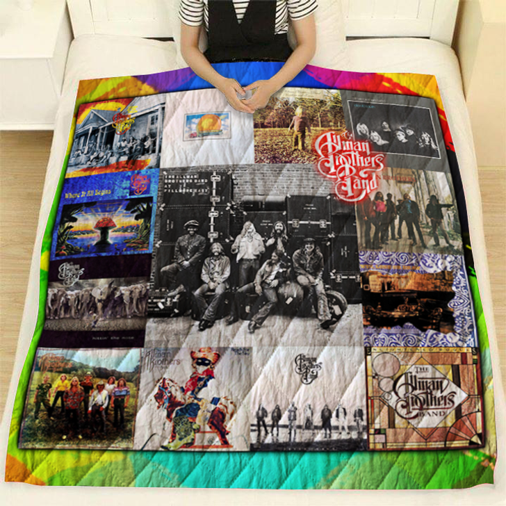 The Allman Brothers Albums For Fans 3D Quilt Blanket