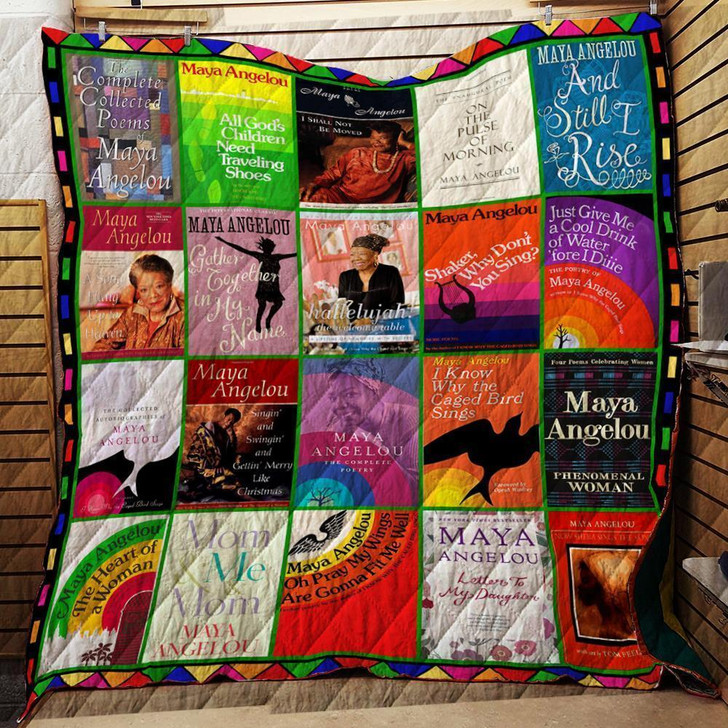 The Maya Angelou Collection-  Customize Quilt Blanket Design By Exrain.com