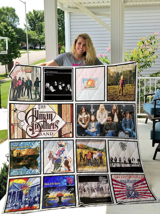 The Allman Brothers Band  Customize Quilt Blanket Design By Exrain.com
