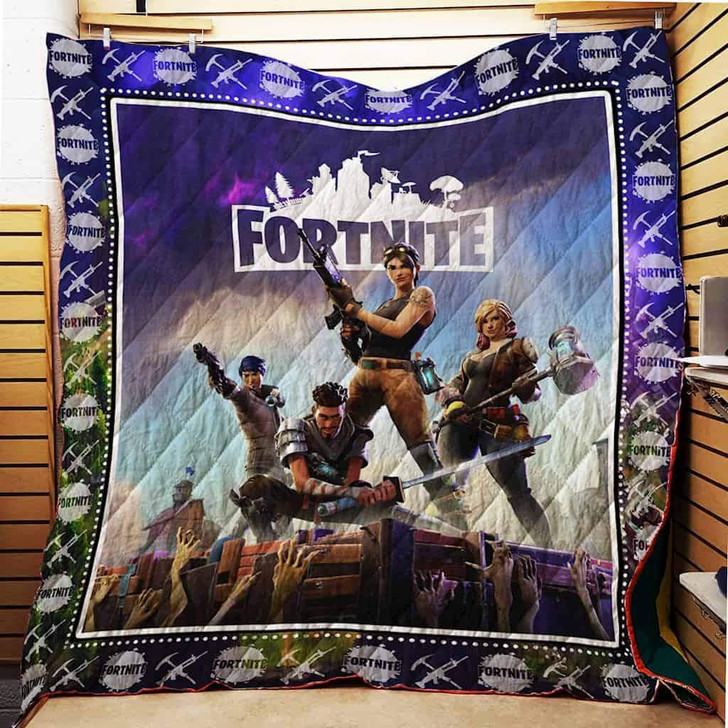 FN 3D Personalized Customized Quilt Blanket ESR15 Design By Exrain.com