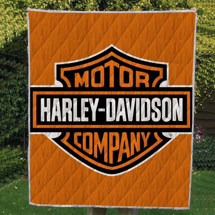 Harley ( 2 style ) 3D Personalized Customized Quilt Blanket ESR10 Design By Exrain.com