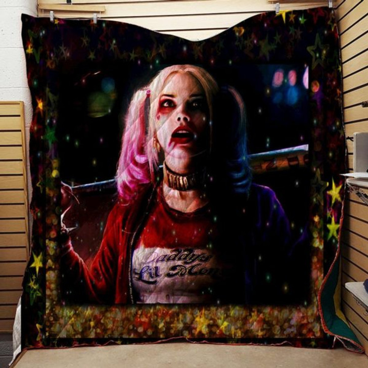 Harley Quinn #Tnov-09 3D Personalized Customized Quilt Blanket ESR11 Design By Exrain.com