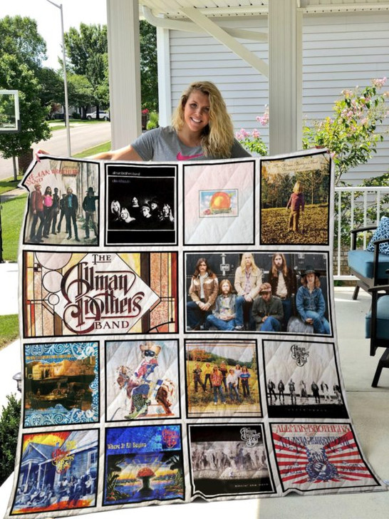 The Allman Brothers Band 3D Personalized Customized Quilt Blanket ESR27 Design By Exrain.com