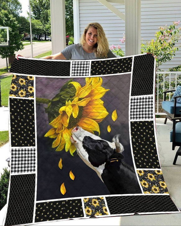 Cows and Sunflowers quilt On Sale!