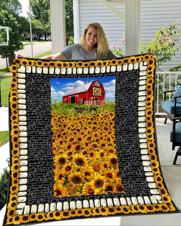 Farm-You Are My Sunshine Quilt on Sale Now