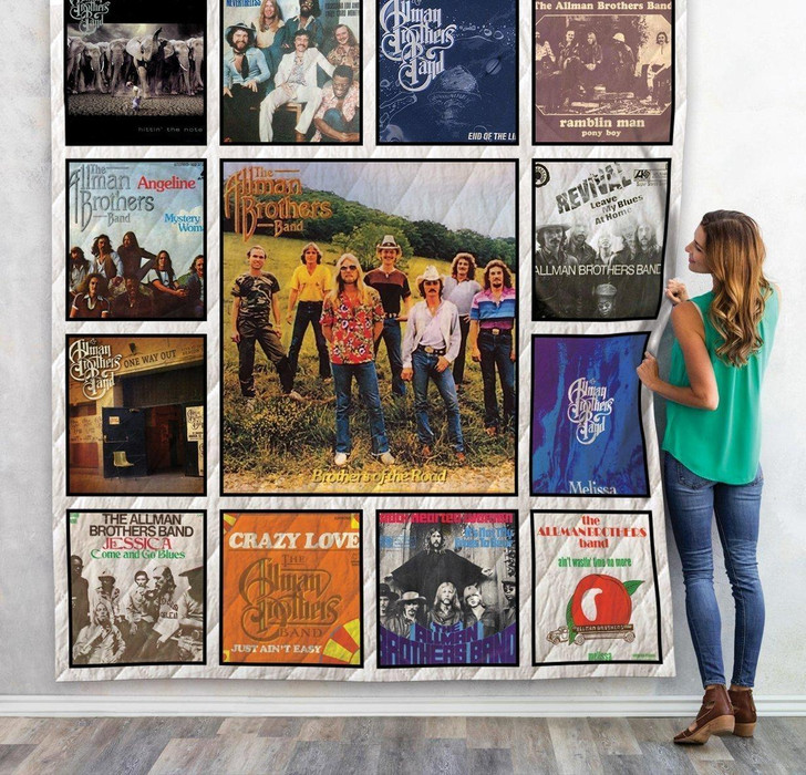 The Allman Brothers Quilt Blanket 01 on Sale Now