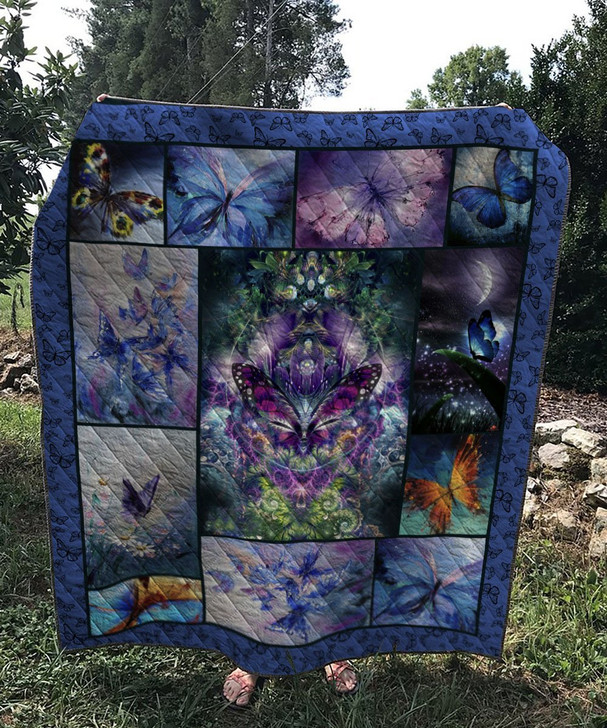 Vintage Butterfly Quilt Fabric On Sale!