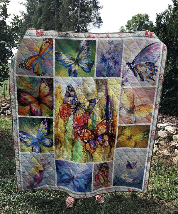 Vintage Butterfly Quilt On Sale!