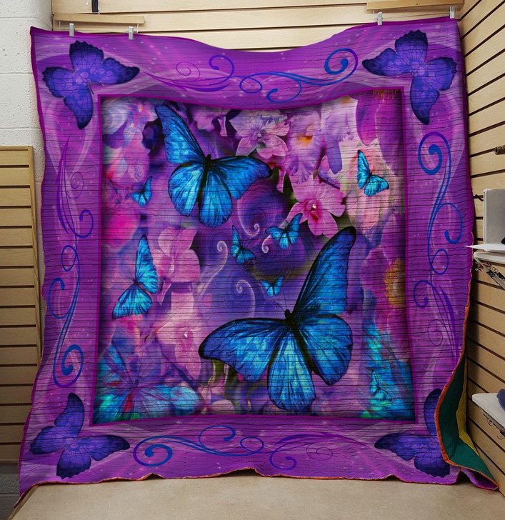 Vintage Love Butterfly Quilt On Sale!