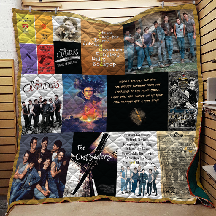 The Outsiders Quilt Blanket TH0907
