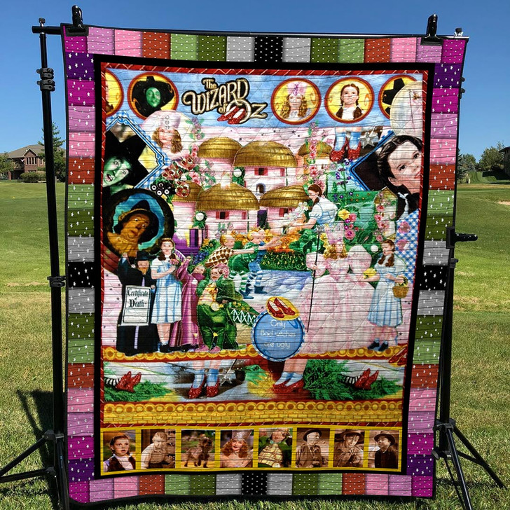 The Wizard Of Oz Quilt Blanket TH1607