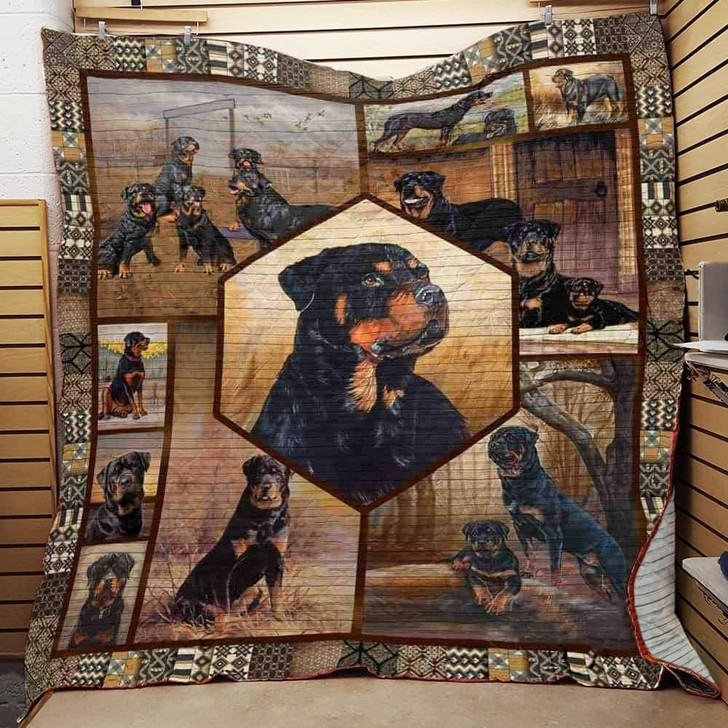 Yorkshire Terrier Dancing With My Dog 3D Customized Quilt TUH6442 PLEN2407
