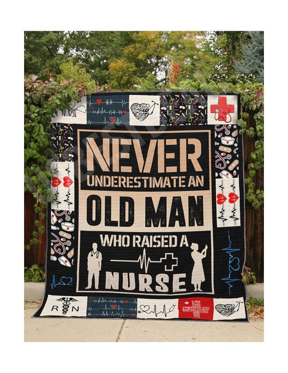 Father'S Day Nurse 2 3D Customized Quilt