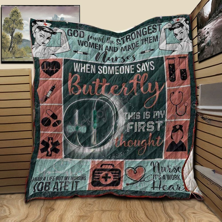 Nurse Proud To Be NTA020398 3D Customized Quilt