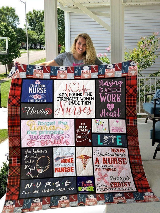 Nurse Work Of Heart JJI424 Awesome 3D Customized Quilt