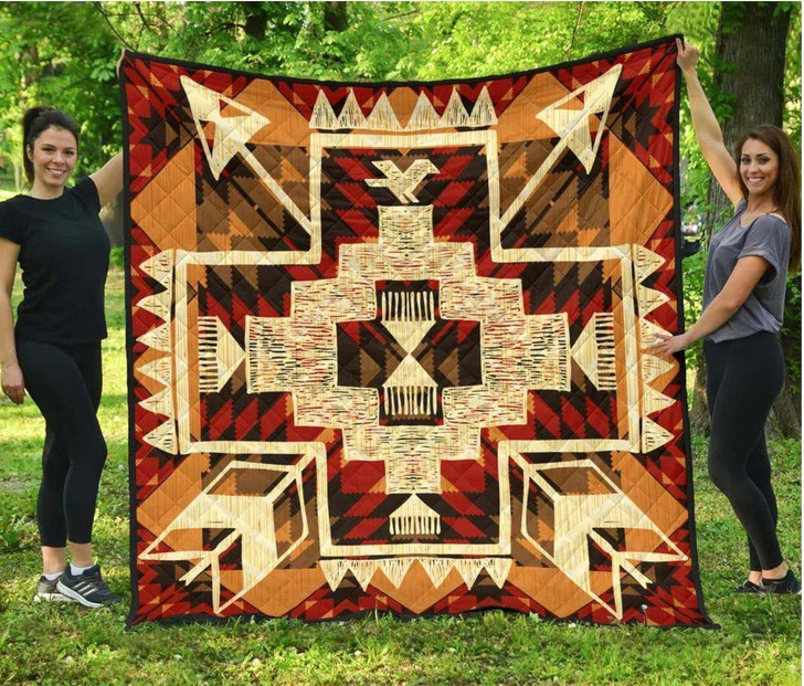 Southwest Yellow Symbol Native American Mp567 Awesome LKI406 3D Customized Quilt