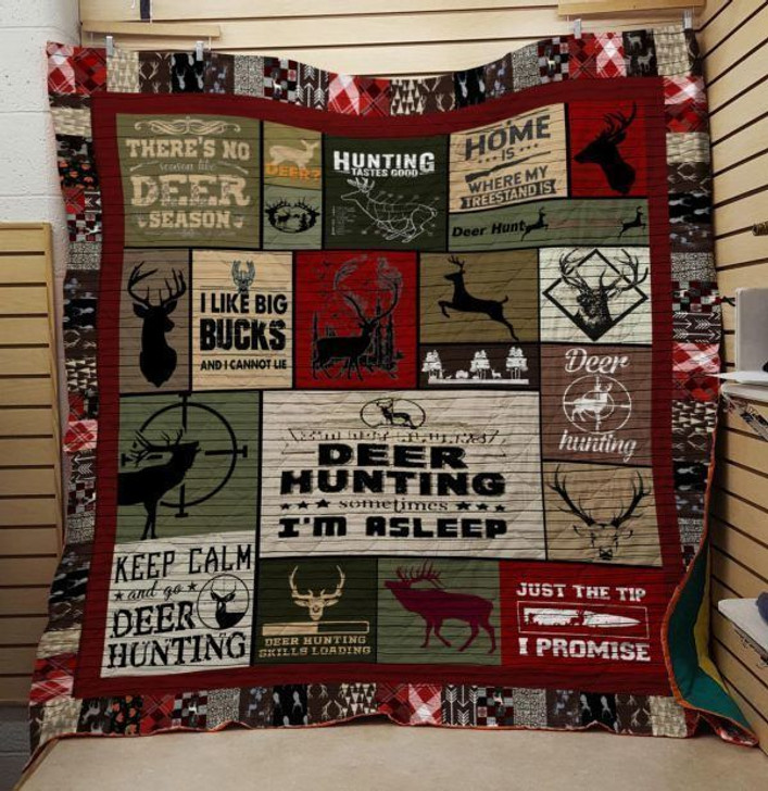 Hunting Im Asleep DDT300496 3D Customized Quilt