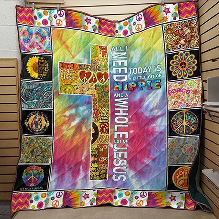 Hippie Cross F Do You Know 3D Customized Quilt