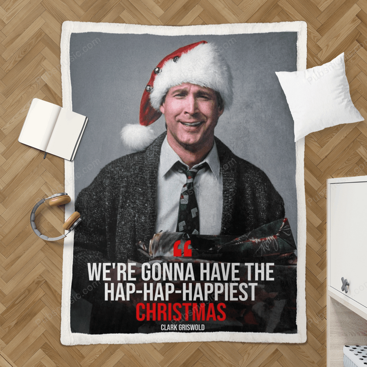 Christmas Vacation - Tv Series Movies Quotes Sherpa Fleece Blanket